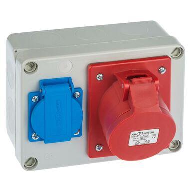 Rozdzielnia siłowa RS 6261 - 00 / 2P + Z 3P + N + Z 16A ELEKTRO - PLAST