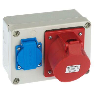 Rozdzielnica elektryczna bez wyposażenia RS 6262 - 00 / 2P + Z 3P + N + Z 32A ELEKTRO-PLAST