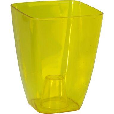 Osłonka plastikowa 13 x 13 cm żółta STORCZYK FORM-PLASTIC