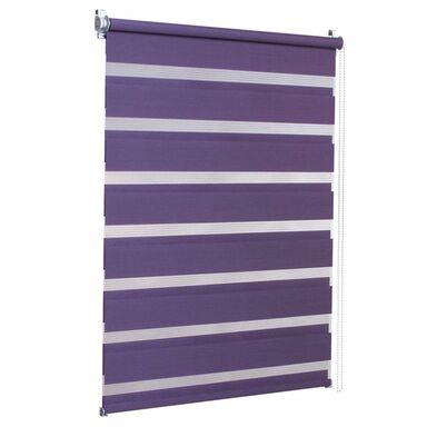 Roleta dzień noc DUO 83 x 215 cm purpura