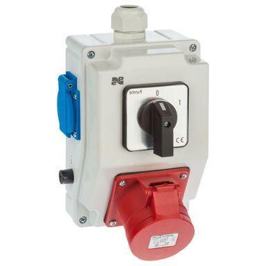 Rozdzielnica elektryczna bez wyposażenia 6273 - 00 / RS - Z 0 - 1 2 X 2P + Z 3P + N + Z 16A ELEKTRO-PLAST