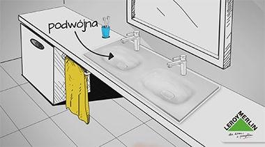Wielkość umywalki