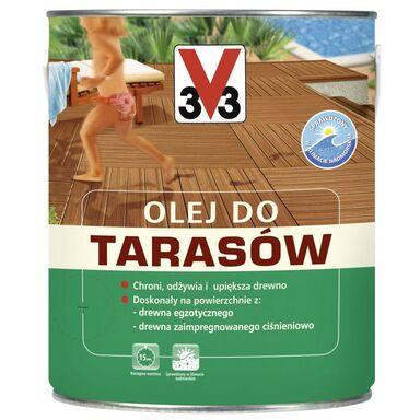 Olej do tarasów 1 l Bezbarwny V33