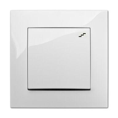 Włącznik schodowy CARLA  biały  ELEKTRO - PLAST