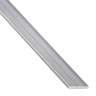 Płaskownik aluminiowy 1 m x 20 x 2 mm surowy srebrny STANDERS