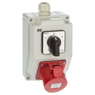 Rozdzielnica elektryczna bez wyposażenia 6271 - 20 / RS - Z L - 0 - P 3P + N + Z 16A ELEKTRO-PLAST