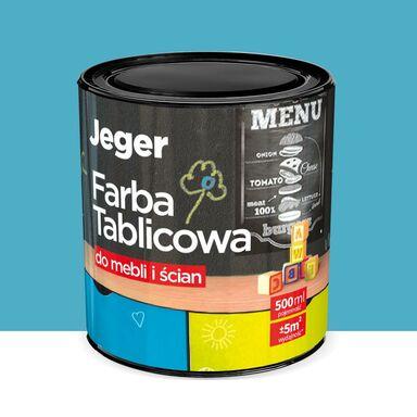Farba tablicowa do mebli i ścian 0.5 l Turkus JEGER