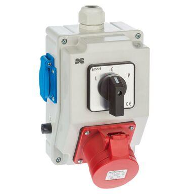 Rozdzielnica elektryczna bez wyposażenia RS - Z L - 0 - P / 2 X 2P + Z 3P + N + Z 16A ELEKTRO-PLAST