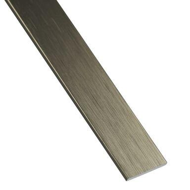 Płaskownik aluminiowy 2.6 m x 30 x 2 mm anodowany srebrny STANDERS
