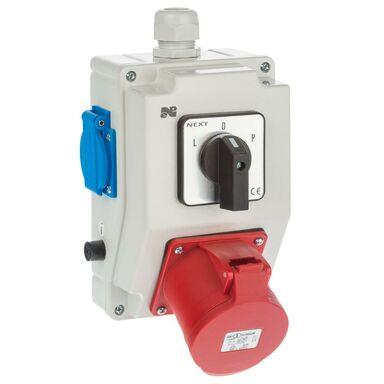 Rozdzielnica elektryczna bez wyposażenia 6275 - 20 / RS - Z L - 0 - P 2P + Z 3P + N + Z 32A ELEKTRO-PLAST