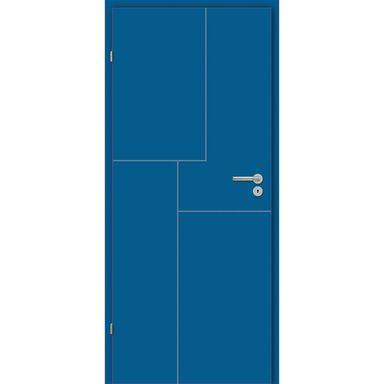 Skrzydło drzwiowe pełne Tela Niebieskie 90 Lewe Classen
