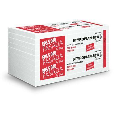 Styropian fasadowy niefrezowany EPS 040 150 STB