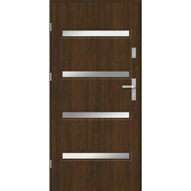 Drzwi wejściowe CAPRI Orzech 90 Lewe EVOLUTION