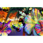 Fototapeta COLOR FLOWERS 146 x 208 cm