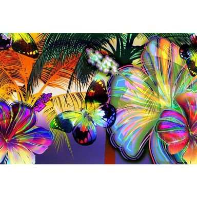 Fototapeta COLOR FLOWERS 208 x 146 cm