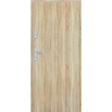 Drzwi zewnętrzne drewniane Grafen Dąb Sonoma Polska 80 Prawe otwierane do wewnątrz Nawadoor