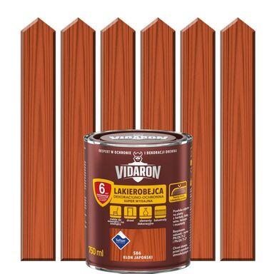 Lakierobejca do drewna OCHRONNO – DEKORACYJNA 0.75 l Klon japoński VIDARON