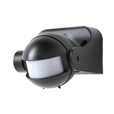 Czujnik RUCHU 180° czarny LEXMAN
