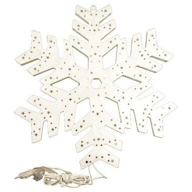 Podświetlany płatek śniegu 44 cm 50 LED