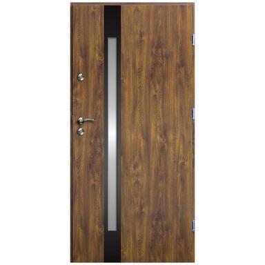 Drzwi wejściowe VERTE TRATTO  prawe 90 OK DOORS TRENDLINE