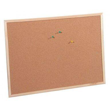 Tablica korkowa w sosnowej ramie 80 x 50 cm