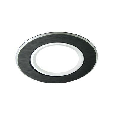 Oprawa stropowa oczko EAST OPAL czarna okrągła GU10 POLUX