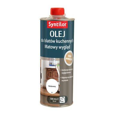 Olej do blatów kuchennych 0.5 l bezbarwny SYNTILOR