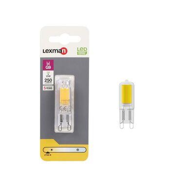 Żarówka LED G9 2 W = 25 W 250 lm Ciepła LEXMAN