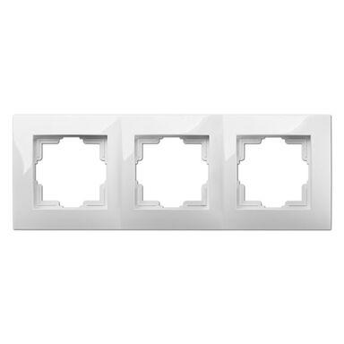 Ramka potrójna CARLA  Biały  ELEKTRO-PLAST