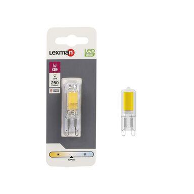 Żarówka LED G9  2 W = 25 W 250 lm Neutralna LEXMAN