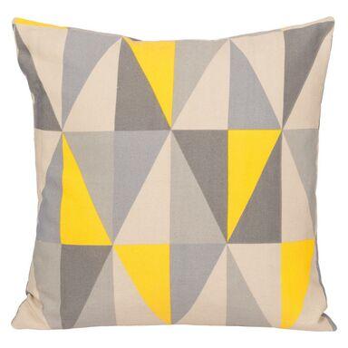 Poduszka TRIA żółta 40 x 40 cm INSPIRE