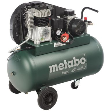Kompresor olejowy MEGA 350-100 D 90 l 10.0 bar METABO