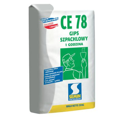 Gips szpachlowy CE 78 SEMIN