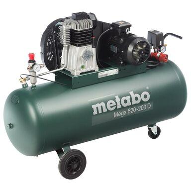 Kompresor olejowy MEGA 520-200 D 200 l 10 bar METABO