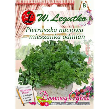 Pietruszka naciowa MIESZANKA ODMIAN nasiona tradycyjne 5 g W. LEGUTKO