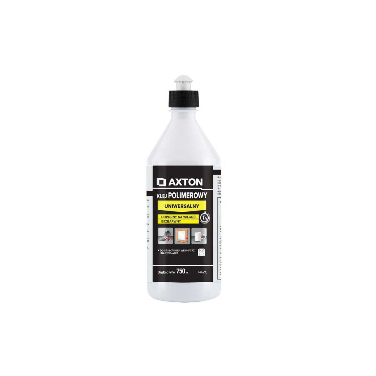 Klej polimerowy UNIWERSALNY bezbarwny 750 ml AXTON