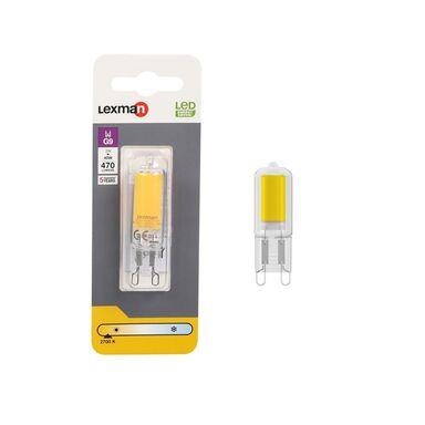Żarówka LED G9 3 W = 40 W 470 lm Ciepła LEXMAN