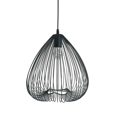 Lampa wisząca Frusta czarna E27 Light Prestige