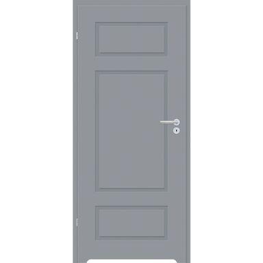Skrzydło drzwiowe z podcięciem wentylacyjnym Grifo Szary lakier 60 Lewe Classen