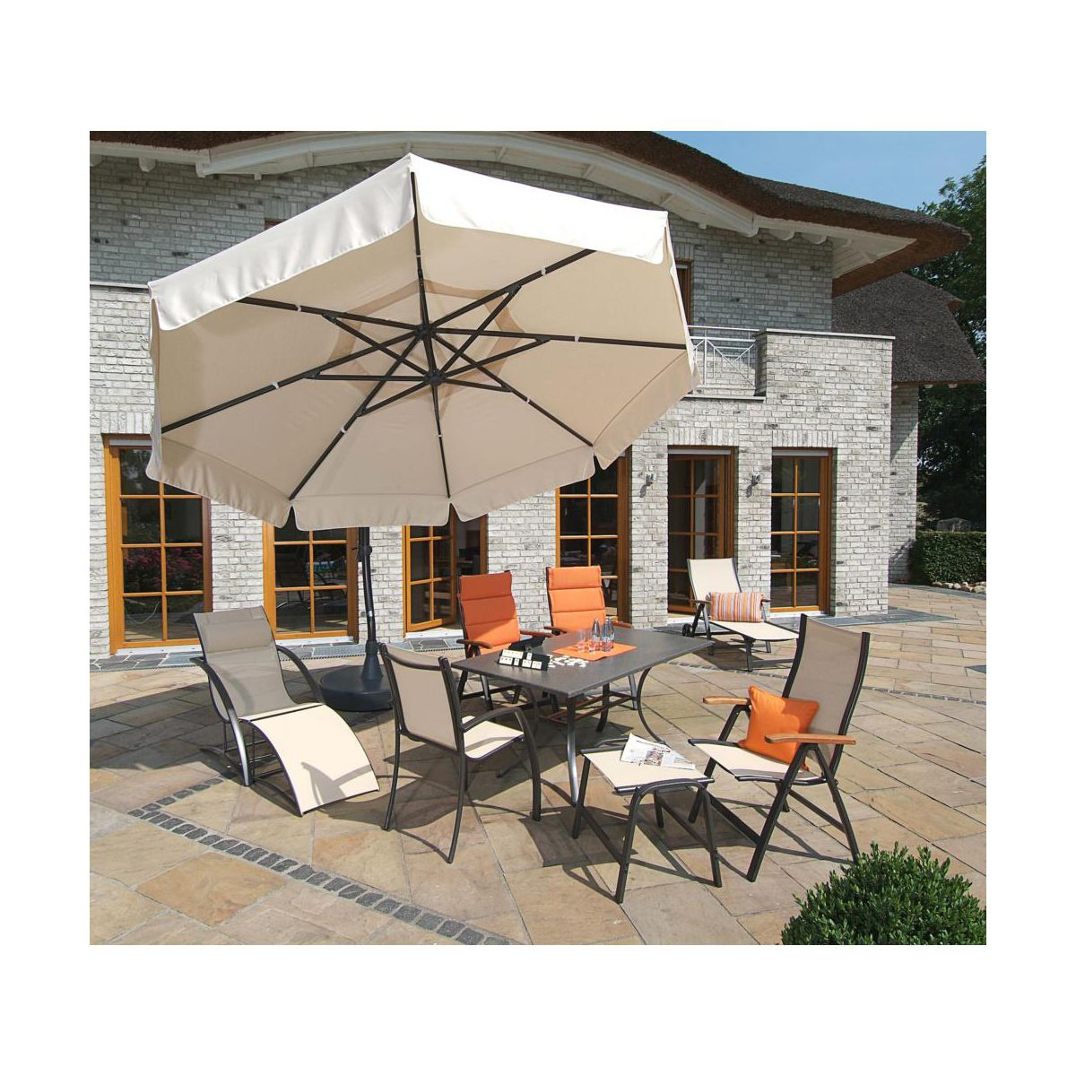 parasol ogrodowy easy sun r 350 cm sun garden parasole. Black Bedroom Furniture Sets. Home Design Ideas