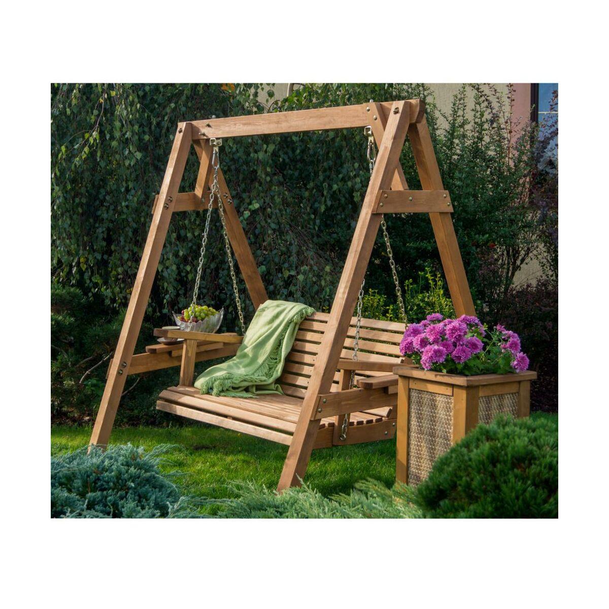 Hustawka Ogrodowa Z Drewna Egzotycznego : Huśtawka Ogrodowa Pictures to pin on Pinterest