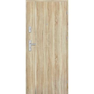 Drzwi zewnętrzne drewniane Grafen Top Dąb Sonoma Polska 80 Prawe otwierane do wewnątrz Nawadoor