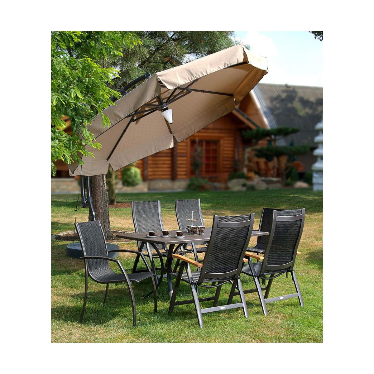 parasol ogrodowy easy sun sun garden parasole ogrodowe. Black Bedroom Furniture Sets. Home Design Ideas