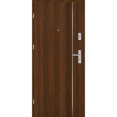 Drzwi zewnętrzne drewniane Grafen Top Orzech Polski 90 Lewe otwierane na zewnątrz Nawadoor