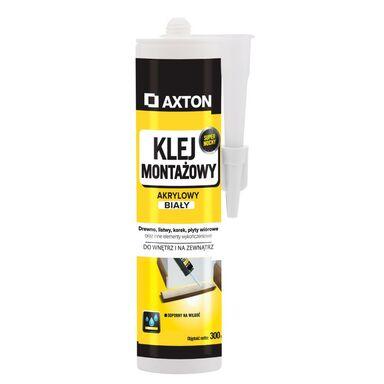 Klej montażowy AKRYLOWY 300 ml Biały AXTON