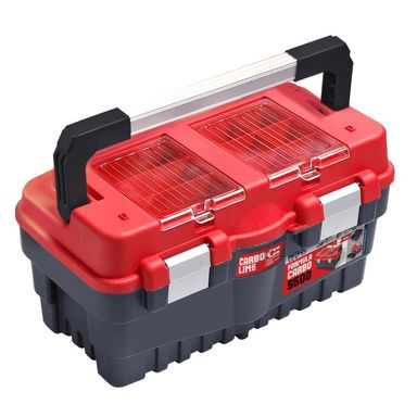 Skrzynia narzędziowa S500 CARBO RED PATROL