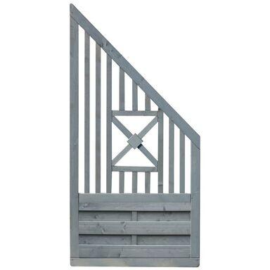 Płot skośny 90x180 cm drewniany PARMA WERTH-HOLZ