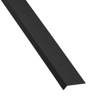 Kątownik PVC 2.6 m x 40 x 10 mm połysk czarny STANDERS