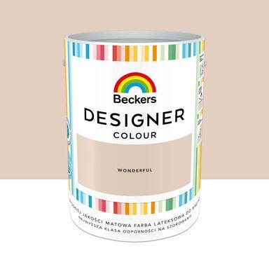 Farba wewnętrzna Designer Colour 5 l Wonderful Beckers