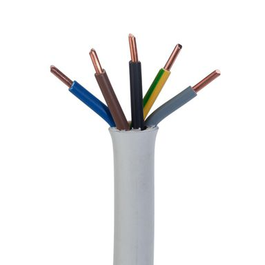 Przewód elektryczny YDY 5 X 6 450 / 750V AKS ZIELONKA